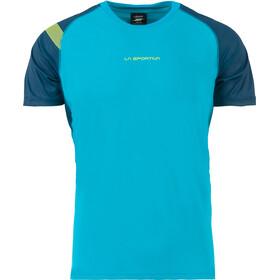 La Sportiva Motion - T-shirt course à pied Homme - bleu/turquoise